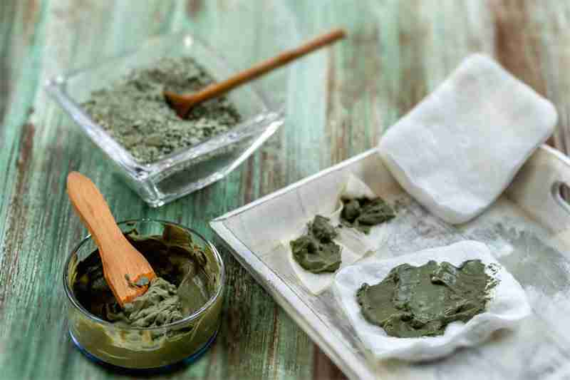 French Green Clay in Homemade Face Masks